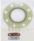 flange isolation gasket kit warrior